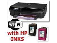 HP Envy WIFI All-in-One Colour Ink-jet - Printer / copier / scanner -WITH BUNDLE OF 500 A4 PAPERS