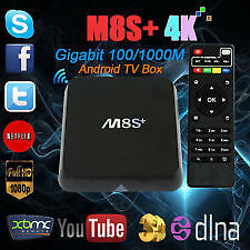 M8S+ quad (4) core and CX-R8 octa (8) core android TV boxes