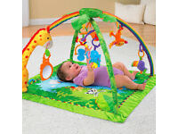 Fisher Price Rainforest Deluxe Play Mat - New was £60