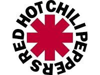 2 x Red Hot Chilli Ppper Tickets Manchester Seated Lower Tier £95