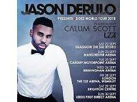2 x Jason Derulo tickets for Brighton centre 28/9/18 £100 the pair