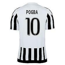 Juventus Soccer Jersey Pogba 10  High Quality