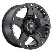 Black 4x4 20x9 wheels Carrara Gold Coast City Preview