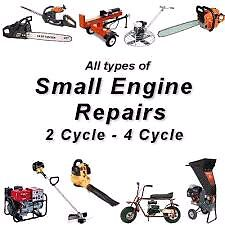 Small engine repairs and tuneups