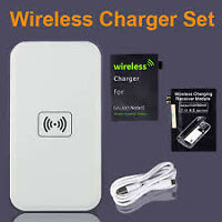 Qi Wireless Charger Pad & Receivers: Galaxy S3, S4, S5, Note 3
