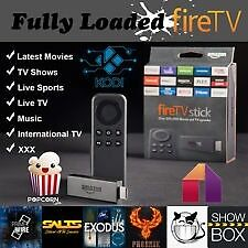 AMAZON FIRE STICK KODI 16.1 FULLY LOADEDMOVIESSPORTBOXSETSTVINDIAN TVin Grays, EssexGumtree - AMAZON FIRE TV STICK Only opened for installation then carefully repacked in original box and wrapping. The Amazon Fire TV Stick is fully portable and can be used anywhere where theres an internet connection use between TVs you can use it from room...