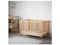 Ikea Cot and bedding