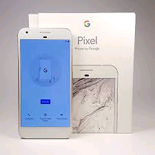 Brand new Google pixel with box and receipt plus more!