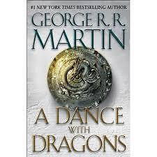 GEORGE R R MARTIN  A DANCE WITH DRAGONS HARDCOVER
