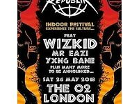 AFROREPUBLIK FEAT WIZKID VIP TICKETS