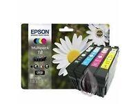 Epson Ink Cartridges - Brand New Original, Sealed