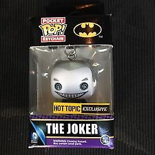Pocket POP! Keychain DC The JOKER black and white, HT exclusive