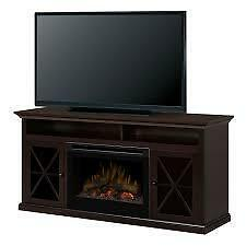 *** USED *** DIMPLEX MEDIA CONSOLE FIREPLACE S/N:6161742 #STORE595