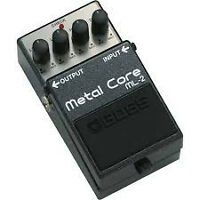 pédale boss metal core ml-2 et boss metal zone mt-2