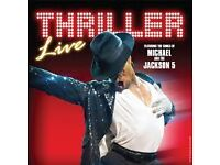 X2 Tickets to Thriller Live at The Lyric Theatre London (stalls seating)