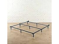 Q84RS Queen size bed frame , boxed, central London bargain