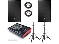 ElectroVoice ELX LIVE X 2.7k professional PA System for hire