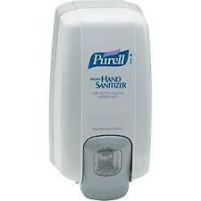 purell hand sanitizer dispenser and 3,1 liter refills
