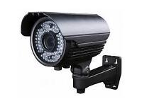 hd camera bullet 1200TVL 1/3'' 6mm 36 LEDs Outdoor IR-CUT Night Vision for cctv cameras