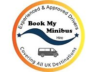 12/ 17 SEATER MINIBUS HIRE WITH DRIVER