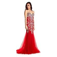 Brand New with Tags Ruby Prom/ Evening Dress Red Lola size 10