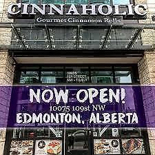 Cinnaholic is rapidly expanding across Canada.  Now is your chance to own your own Cinnaholic.  Join the excitement!