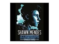 2 shawn mendes tickets dublin tuesday may 30 2017