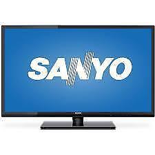 SANYO 32 INCH  CLASS FULL HD LED TV. SUPER SALE $129.00 NO TAX
