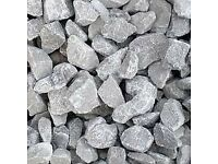 20mm Dove Grey Limestone Chipping Decorative Aggregate Stone/Gravel PER TONNE