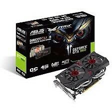 Asus nvidia gtx 960 strix 4gb graphics card for sale