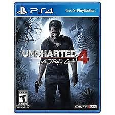 Ps4 Uncharted 4 - like new