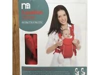 Mothercare 2 position baby carrier