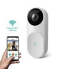 Weekly Promotion ! NETVUE BELLE A.I. WIFI HD VIDEO DOORBELL WITH FACIAL RECOGNITION, VOICE INTERACTION, NIGHT VISION, MO
