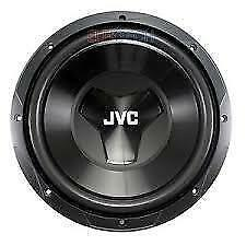 JVC CS-W120 1000W 12-Inch W Series Single 4 ohm Car Subwoofer....
