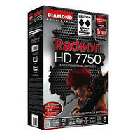 Double Black Diamond AMD Radeon HD 7750 (open)