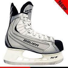 80% off NEW IN BOX Nike Bauer 22 Ice Hockey Skates SAVE $125 SIZE Men 6 Women Sz 8 winter sport Skating