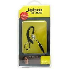 Jabra C200 Corded Headset Standard 2.5mm & Call Answer End Bud
