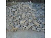 hardfill/ rocks/stones planings bricks hardcore etc wanted