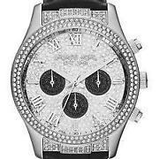 Michael Kors Black Glitz Watch