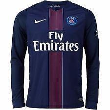 Paris Saint-Germain Home LS 16/17 Official Nike Jersey Large