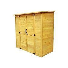 outdoor storage shed ebay