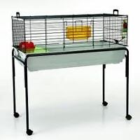3 rabbit cage with stand for sale