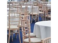 Table & Chair hire