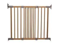 Child Stair Safety Gate Babydan Wooden by John Lewis