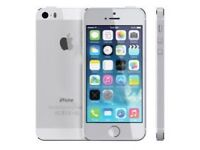 Apple iPhone 5 Factory unlocked, 4G and Good Conditions SILVER..
