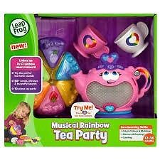 LEAPFROG MUSICAL ....RAINBOW TEA PARTY Product Reference 404534