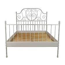 Ikea metal bedframe
