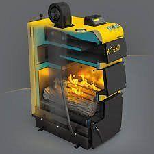 solid fuel external boilers