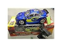Remote control subaru rc race car Tamiya larger model