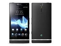 Sony Xperia S Black (Unlocked) in good condition